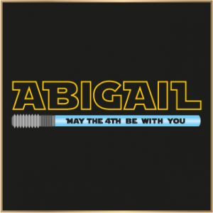 abigail may the 4th be with you