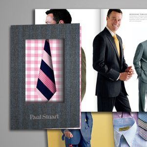 paul stuart catalog design