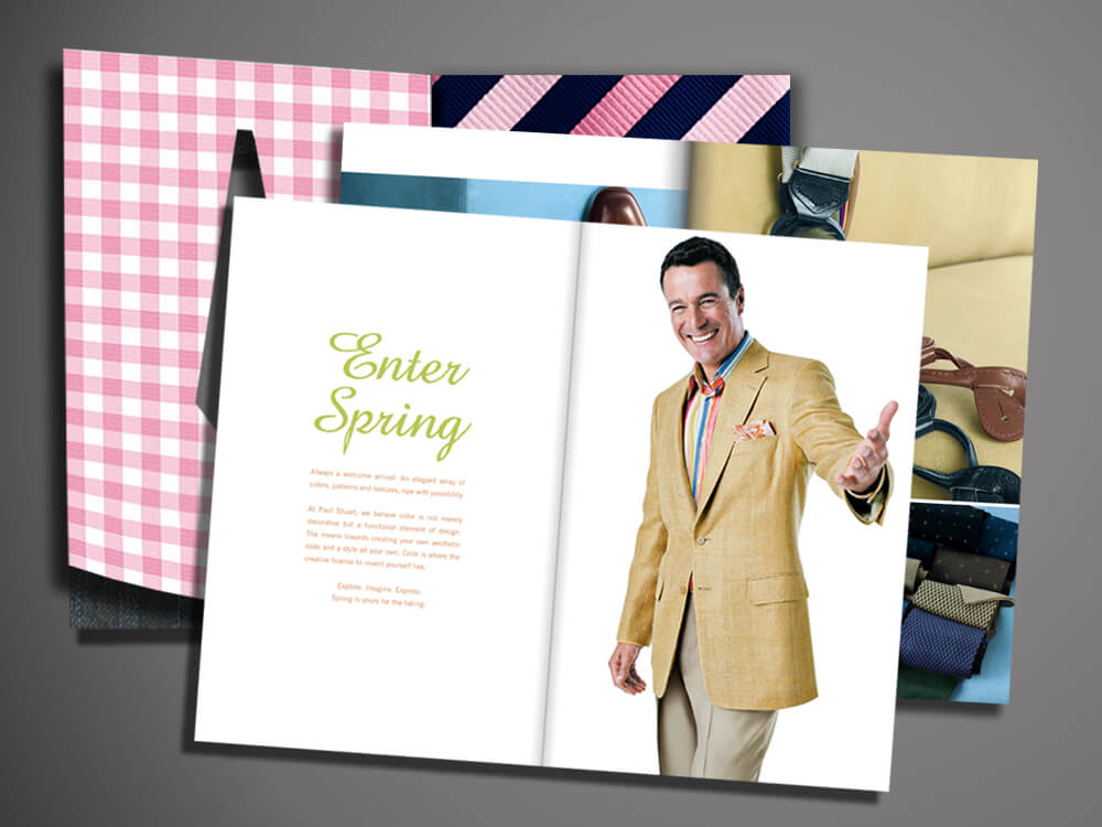 paul stuart spring catalog