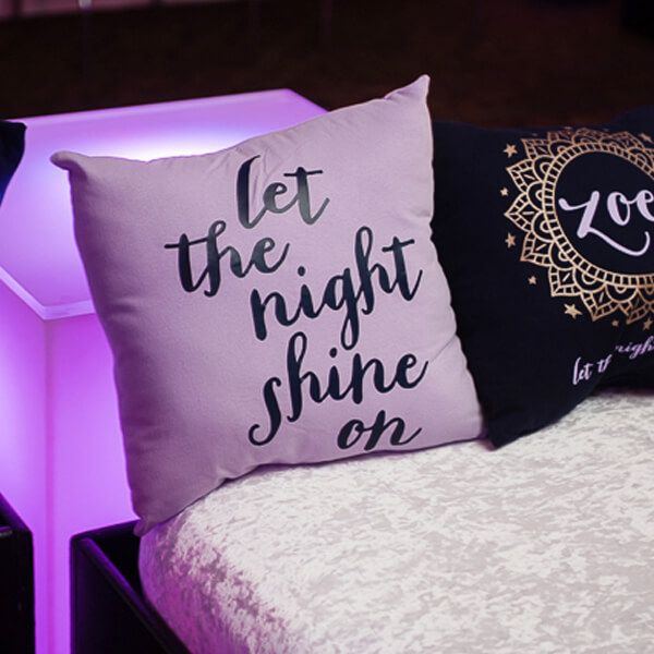 zoe let the night shine on pillows